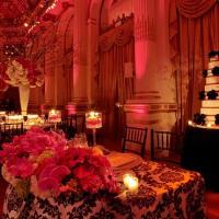 Casamento: decoração branco, pink e preto