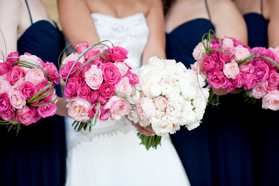 Beautiful pink bridal bouquets bunchesdirect pink bridal bouquets mightylinksfo