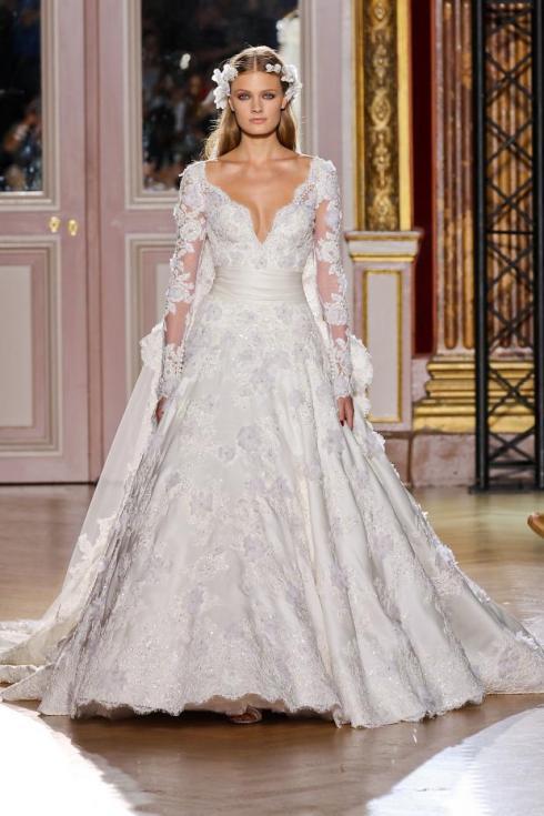 3f63f7dfb2 Rosa Clará de mangas longas romântico e cintura marcada.  vestido de novia rosa clara 211