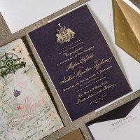 Casamento decoração: roxo e lilás