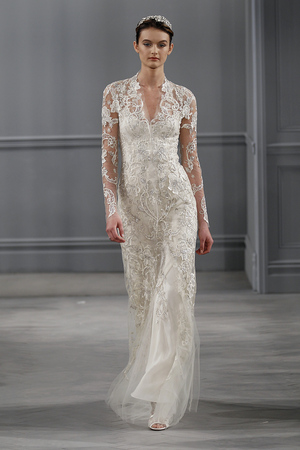 SS14 MONIQUE LHUILLIER NEW YORK BRIDAL 4/20/13