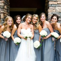 Mademoiselle, bridesmaid ou damas adultas