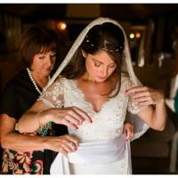 Mini wedding branco e dourado