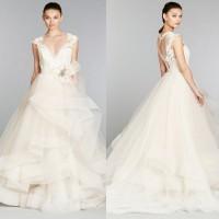 Vestidos de noiva | Lazaro outono 2013